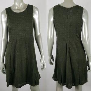 Maurices Green Lazer Cut Sheath Dress Size Large